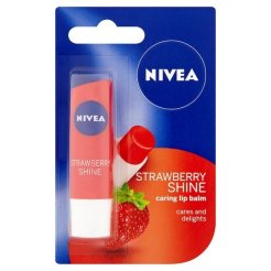 nivea strawberry shine
